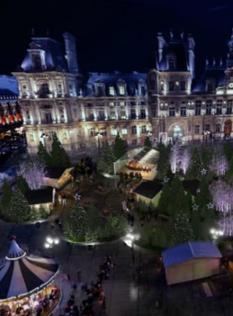 Marché de Noël de l'Hôtel de Ville