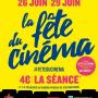 Fête du Cinéma 2016