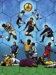 "Expo Football - A la limite du hors jeu ""Avé la main (Fondation Raffy)"""