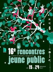 Affiche 16e rencontres jeune public