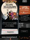 Happy Halloween 2015 chez Max Aventure