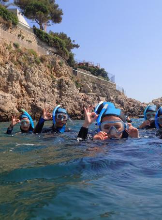 Les vacances au Centre de Découverte du Monde Marin