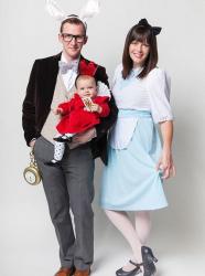 Déguisement Alice au pays des merveilles : costume parent-enfant