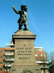 Statue de Jean Bart à Dunkerque