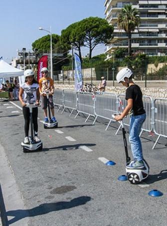 Boulevard du Midi piéton à Cannes