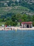 La Presqu'île de Condrieu les Roches : baignade en famille près de Lyon