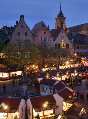 Marché de Noël Colmar Place de l'Ancienne Douane