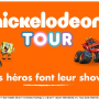 Nickelodeon Tour 2017 - Affiche slider