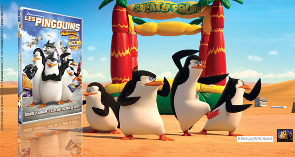 Concours DVD Les Pingouins de Madagascar