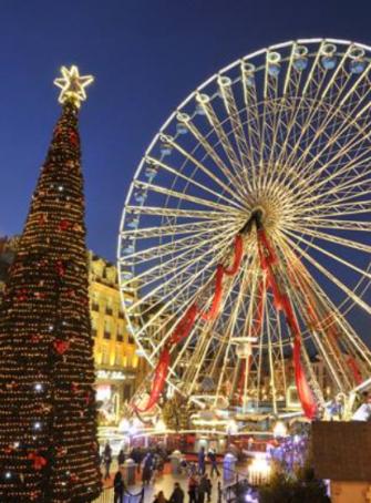 La grande roue de Noël 2018-2019 à Lille