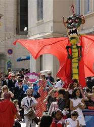 Carnaval des Dragons de Saint Georges à Lyon