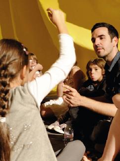 La Biennale d'art contemporain de Lyon pour les enfants