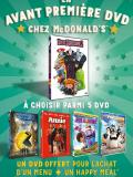 McDonald's : des DVD en exclu dans le Happy Meal