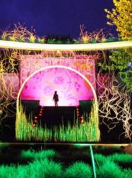 Féeries nocturnes au Jardin de Wesserling