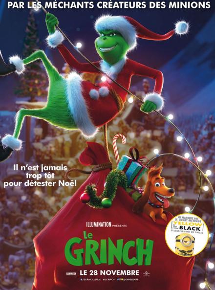 Le Grinch, film d'animation - Affiche
