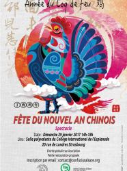 Nouvel an chinois 2017 à Strasbourg