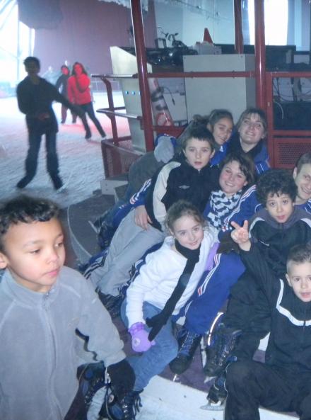 Enfants à l'Iceberg