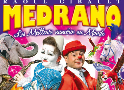 Medrano - Affiche du Festival International du Cirque