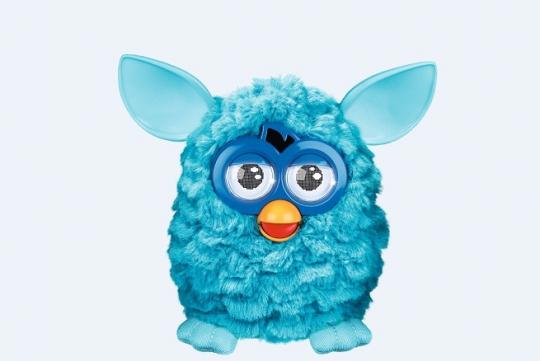 Furby bleu