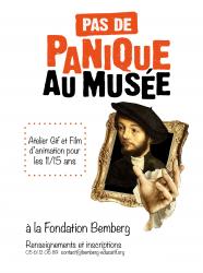 """Stage vacances """"(Pas de) panique au musée"""" à la Fondation Bemberg"""