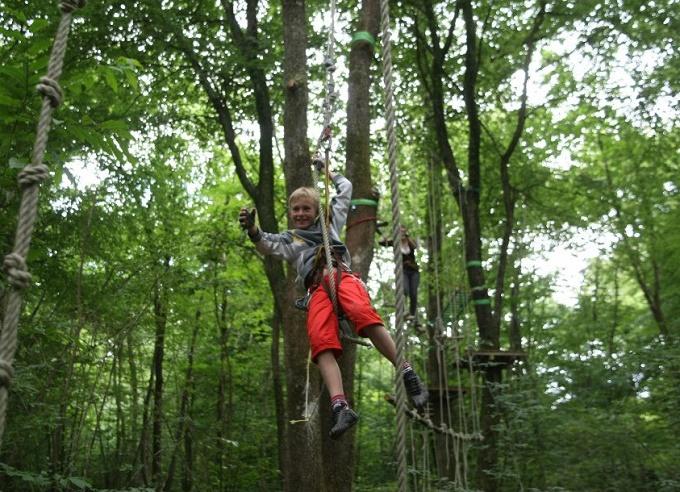 Arbor et Sens - Parcours accrobranche pour enfants