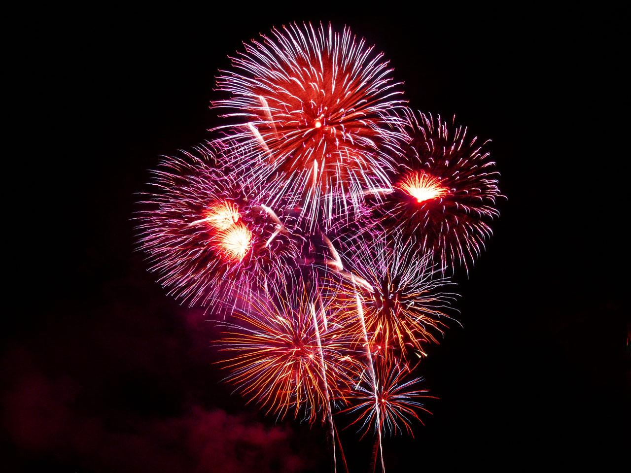 feu artifice 14 juillet 2015 toulouse