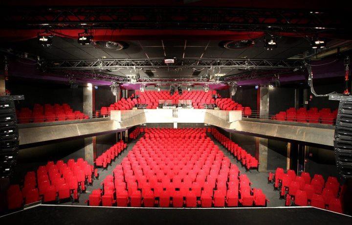 Plan De Salle De Cinema