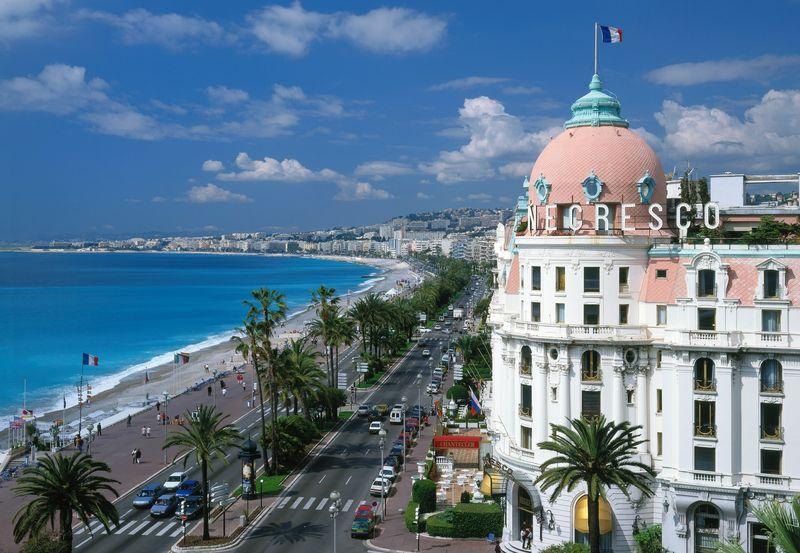 Promenade des Anglais Nicee Kordonboyu